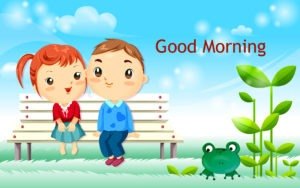 very cute Gud/Good Morning Pic Images wallpaper for whatsaap