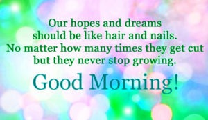 Gud mrng msg in english