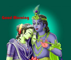 Hindi God Radha Krishna Good Morning Images Photo Pics Wallpaper Download for Whatsaap