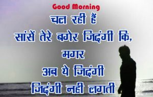 Good Morning Image With Quotes In Hindi Free Download