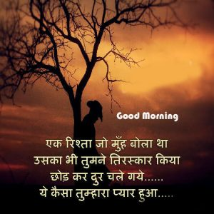 Hindi Quotes Good Morning Image Wallpaper Download