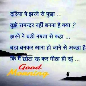 Good Morning Image In Hindi Quotes