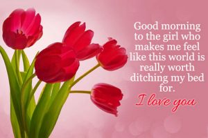 Quotes Good Morning Images Photo Free Download With Flower