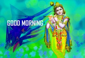 Krishna Good Morning Wallpaper Download