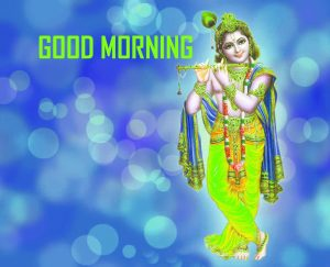 New Krishna Good Morning Photo Pics Free Download