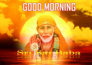 Sai Baba Good Morning Photo Pics Free Download