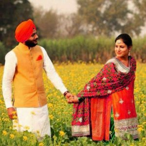 Punjabi Couple Photo Free Downlaod