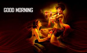 Radha Krishna Good Morning Photo Downlaod