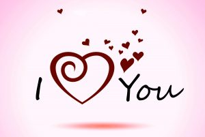 I love you photo wallpaper