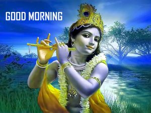 God Good Morning Images With Krishna