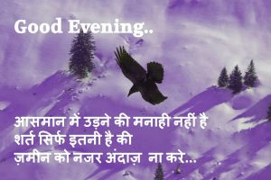 Hindi Good Evening Images