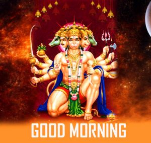 Jai Hanuman Good Morning Photo Pics Download