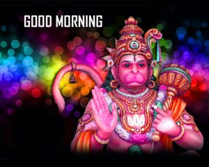 God Hanuman Ji Good Morning Photo Pics Free Download