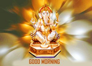 God Ganesha Good Morning Pictures Free Download