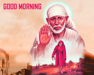 Sai Baba Good Morning Photo Pics Download