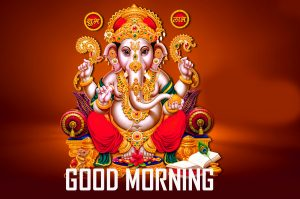 Lord God Ganesha Good Morning Photo Download