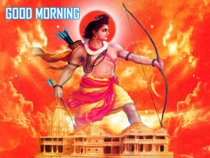 God Sri Ram Good Morning Photo Pics Downlaod