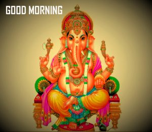 Bal Ganesha Good Morning Photo Pics Download