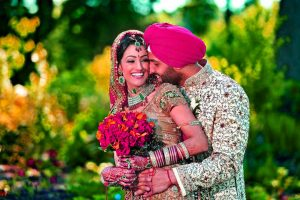 Wedding Punjabi Couple Pics For Whatsaap