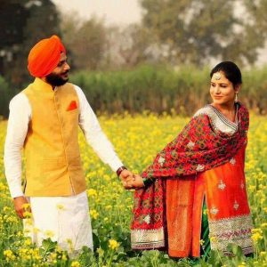 Punjabi Couple Images Wallpaper Downlaod