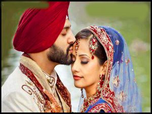 Punjabi Wedding Couple Photo Downlaod