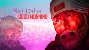 God Sai baba good morning photo pics download