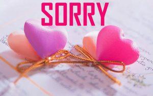 Sorry Photo Wallpaper Pics Download