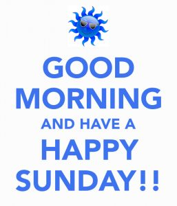 Sunday Good Morning Photo Pics Download