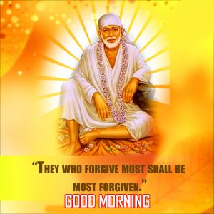 Sai Baba Good Morning Photo Pics Downlaod