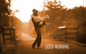 Good Morning 3D Photos With Love Couple