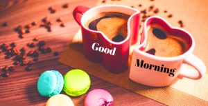 Good Morning 3D Photos With Love Heart