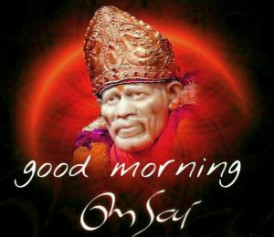Om Sai Ram Good Morning Images Photo Pics Download