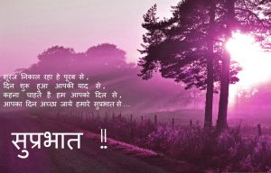 Hindi Quotes Good Morning Photo Pics Download