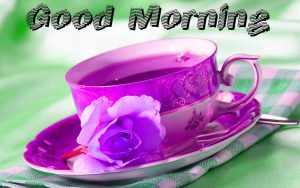 Good Morning Tea Cup Photo Pics Download