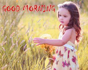 Cute Girls Good Morning Status Images