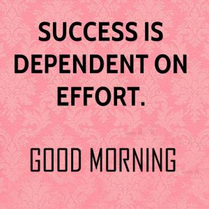 Success English Good Morning Photo Pics Download