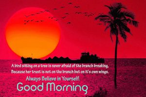 HD Good Morning Images Photo Pictures With Sunrise