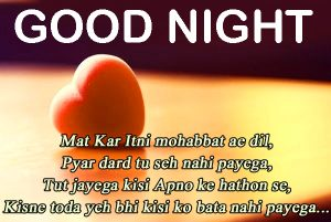 144+ Hindi Shayari Good Night Images HD Free Download - Good Morning
