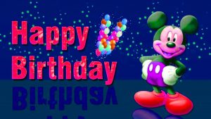Happy Birthday Wishes Images Pics With Cartoon