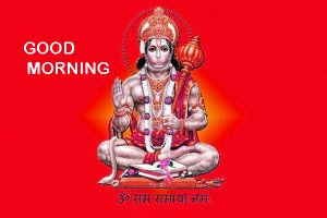 Happy Shubh Mangalwar Good Morning Images Photo Pics With Hanuman Ji