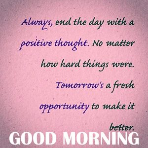 Good Morning Thoughts Images pic HD For Whatsaap