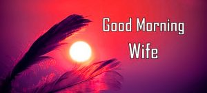HD Good Morning Images Photo Pics for Wife
