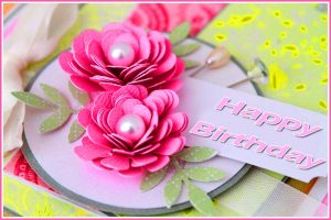 Happy Birthday Wishes Images Photo Pics With Flower