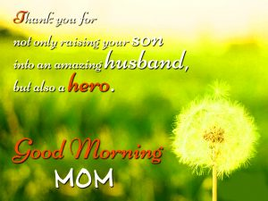 Mom Mummy Good Morning Images Wallpaper Pics With Flower Download