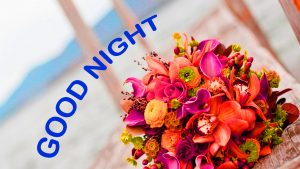Romantic Good Night Images Photo Pictures With Flower