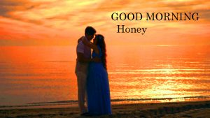 Good Morning Honey Images Photo Pics With I love you