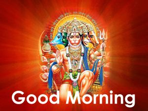 Hanuman Ji Good Morning Images Photo Wallpaper Download