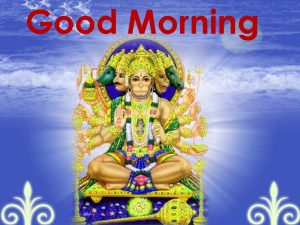 Hanuman Ji Good Morning Images Photo In HD Download