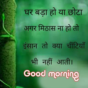 inspirational Hindi Quotes Good Morning Wallpaper For Whatsaap