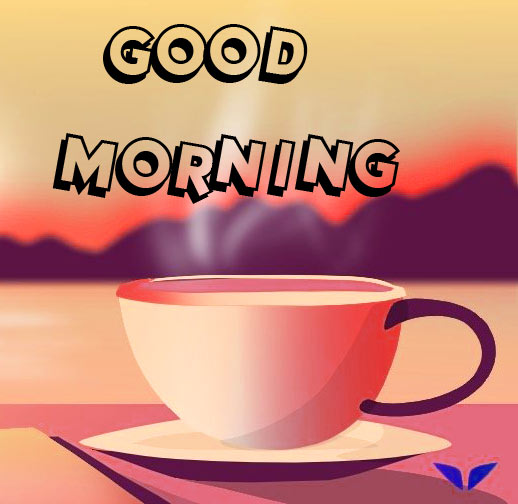 Good Morning 3D Images With Tea